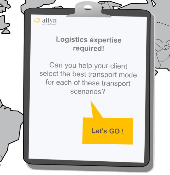 logistics transport mode selection icon