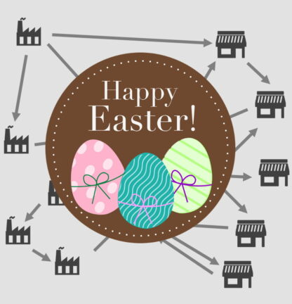 Supply chain introduction course package icon - special Easter offer